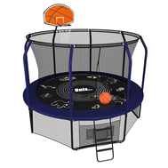 Каркасный батут с баскетбольным кольцом - UNIX LINE SUPREME GAME 10 FT BASKETBALL, фото 1