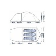 Палатка трёхместная CAMPACK TENT BREEZE EXPLORER 3, фото 1