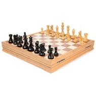 Шахматы классические деревянные 43х43 см, фото 1