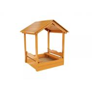 Деревянная песочница IGRAGRAD с крышей, фото 1
