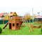 Детская игровая площадка - ВЫШЕ ВСЕХ КРЕПОСТЬ ВИКИНГОВ, башня с балконом, фото 1